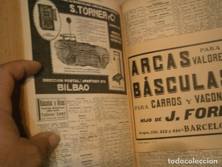 Libros antiguos: ANUARIO GENERAL DE ESPAÑA 1931¡TOMO 2¡¡BARCELONA-CORUÑA,UNICO EN TC - Foto 23 - 188518791