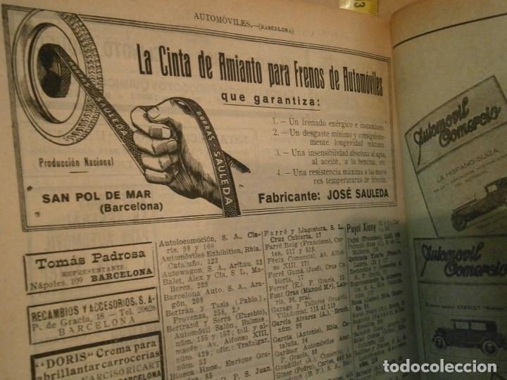 Libros antiguos: ANUARIO GENERAL DE ESPAÑA 1931¡TOMO 2¡¡BARCELONA-CORUÑA,UNICO EN TC - Foto 37 - 188518791
