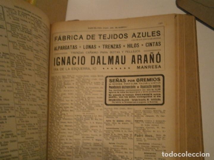 Libros antiguos: ANUARIO GENERAL DE ESPAÑA 1931¡TOMO 2¡¡BARCELONA-CORUÑA,UNICO EN TC - Foto 49 - 188518791