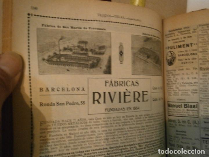 Libros antiguos: ANUARIO GENERAL DE ESPAÑA 1931¡TOMO 2¡¡BARCELONA-CORUÑA,UNICO EN TC - Foto 52 - 188518791