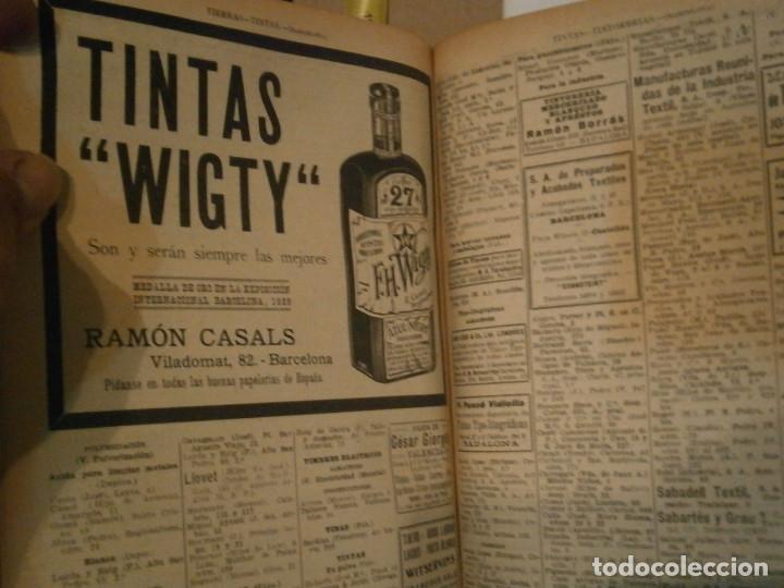 Libros antiguos: ANUARIO GENERAL DE ESPAÑA 1931¡TOMO 2¡¡BARCELONA-CORUÑA,UNICO EN TC - Foto 53 - 188518791
