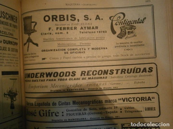 Libros antiguos: ANUARIO GENERAL DE ESPAÑA 1931¡TOMO 2¡¡BARCELONA-CORUÑA,UNICO EN TC - Foto 61 - 188518791