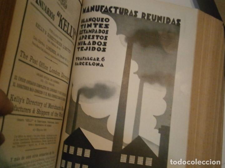 Libros antiguos: ANUARIO GENERAL DE ESPAÑA 1931¡TOMO 2¡¡BARCELONA-CORUÑA,UNICO EN TC - Foto 68 - 188518791