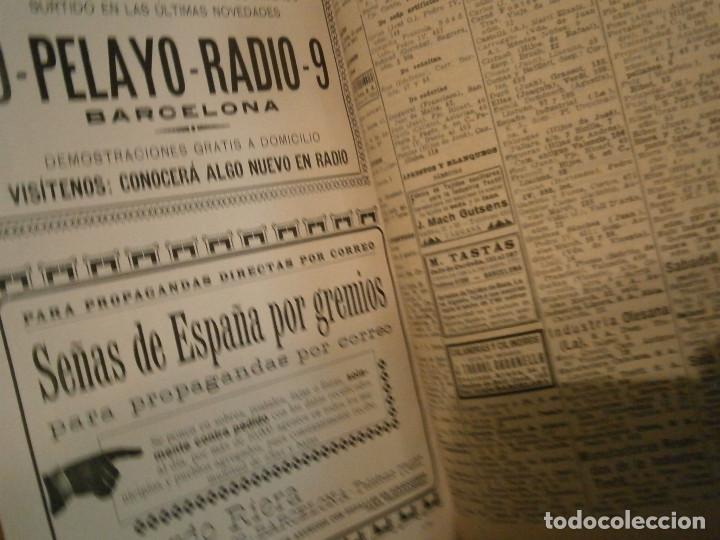 Libros antiguos: ANUARIO GENERAL DE ESPAÑA 1931¡TOMO 2¡¡BARCELONA-CORUÑA,UNICO EN TC - Foto 74 - 188518791