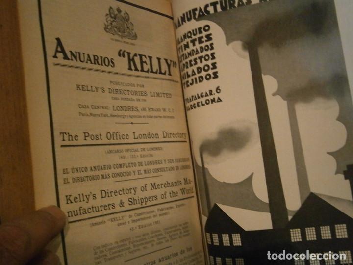 Libros antiguos: ANUARIO GENERAL DE ESPAÑA 1931¡TOMO 2¡¡BARCELONA-CORUÑA,UNICO EN TC - Foto 75 - 188518791