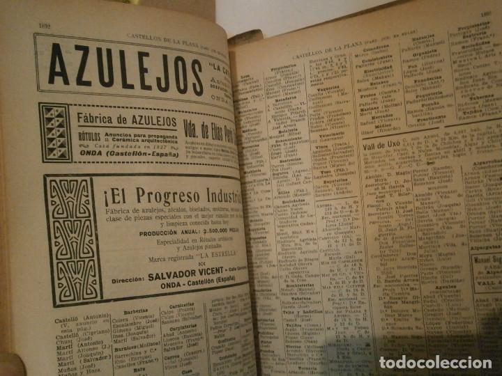 Libros antiguos: ANUARIO GENERAL DE ESPAÑA 1931¡TOMO 2¡¡BARCELONA-CORUÑA,UNICO EN TC - Foto 82 - 188518791