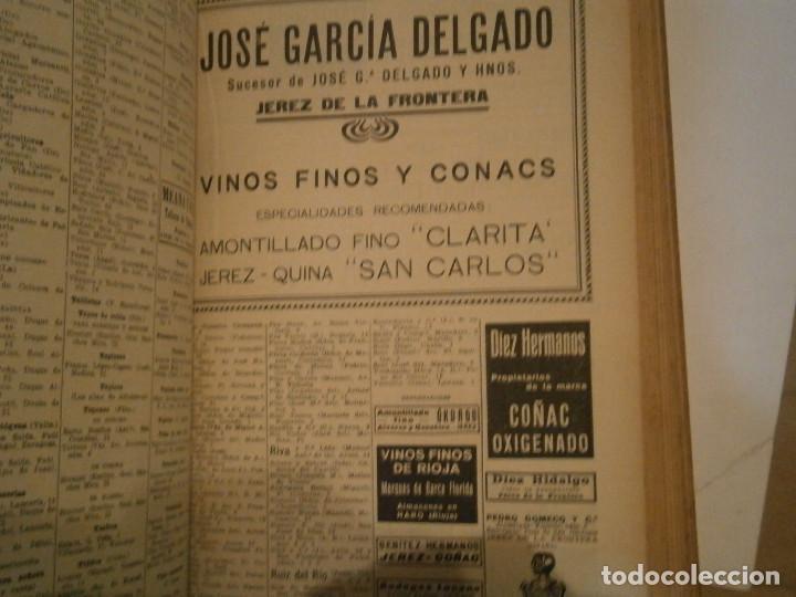 Libros antiguos: ANUARIO GENERAL DE ESPAÑA 1931¡TOMO 2¡¡BARCELONA-CORUÑA,UNICO EN TC - Foto 86 - 188518791