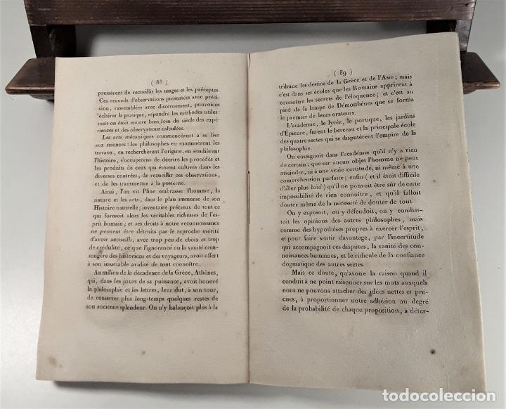 Libros antiguos: ESQUISSE DUN TABLEAU HISTORIQUE DES PROGRÈS DE LESPRIT HUMAIN. CONDORCET. PARÍS. 1822. - Foto 6 - 189094383