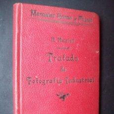 Libros antiguos: TRATADO DE FOTOGRAFIA INDUSTRIAL -RAFAEL ROCAFULL DIAZ -1900. Lote 190928577