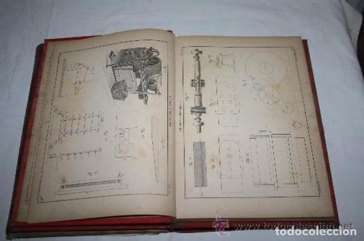 Libros antiguos: HILADURA Y TISAJE. TRATADO TEÓRICO DE HILADOS POR D. JOAQUIN RIBERA 3 TOMOS 1891 - Foto 6 - 191059596