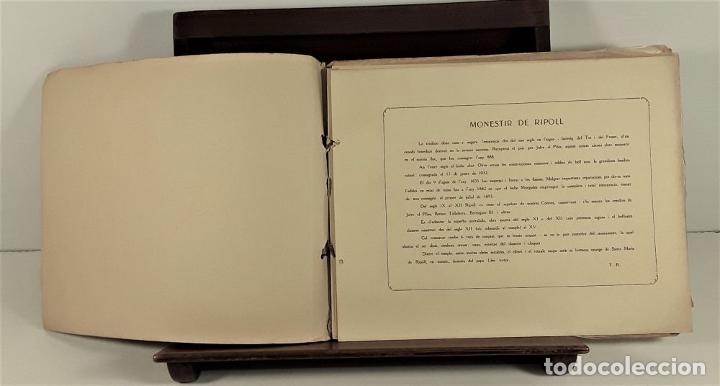 Libros antiguos: MONESTIR DE SANTA MARÍA DE RIPOLL. L. ROISIN. BARCELONA. SIGLO XX. - Foto 15 - 168797924
