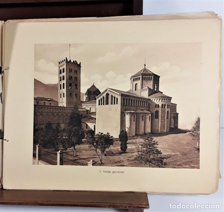 Libros antiguos: MONESTIR DE SANTA MARÍA DE RIPOLL. L. ROISIN. BARCELONA. SIGLO XX. - Foto 17 - 168797924