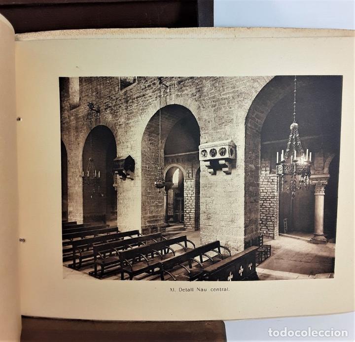 Libros antiguos: MONESTIR DE SANTA MARÍA DE RIPOLL. L. ROISIN. BARCELONA. SIGLO XX. - Foto 22 - 168797924