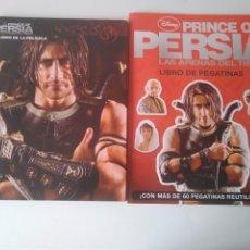 Libros antiguos: PRINCE OF PERSIA LAS ARMAS DEL TIEMPO 2 LIBRO. Lote 195959455