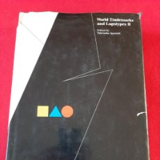 Libros antiguos: WORLD TRADEMARKS AND LOGOTYPES II, 1987. Lote 199233110
