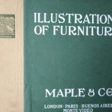 Libros antiguos: CATALOGO 1912 ILLUSTRATIONS OF FURNITURE MAPLE CO MUEBLES SILLAS LAMPARAS UTENSILIOS DEL HOGAR. Lote 204452770