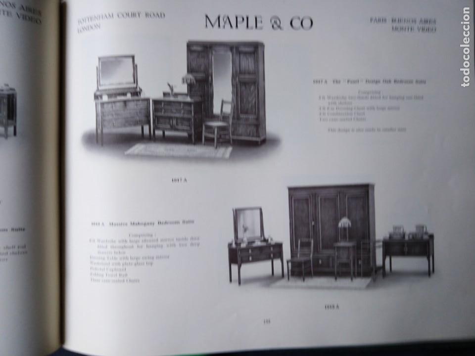 Libros antiguos: CATALOGO 1912 ILLUSTRATIONS OF FURNITURE MAPLE CO MUEBLES SILLAS LAMPARAS UTENSILIOS DEL HOGAR - Foto 7 - 204452770