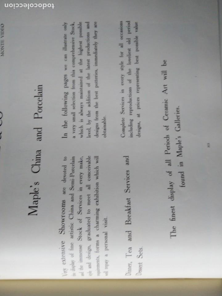 Libros antiguos: CATALOGO 1912 ILLUSTRATIONS OF FURNITURE MAPLE CO MUEBLES SILLAS LAMPARAS UTENSILIOS DEL HOGAR - Foto 18 - 204452770