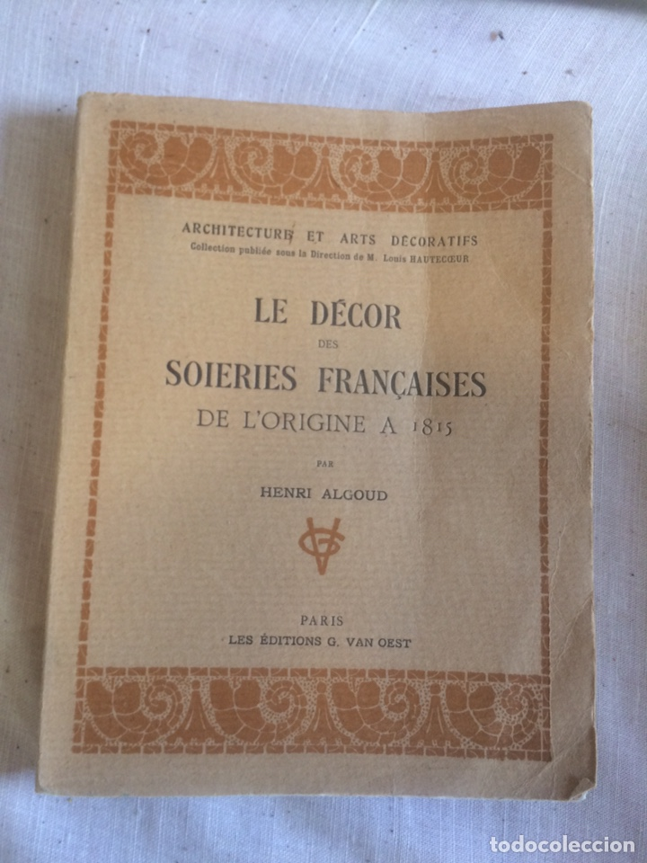 LIBRO 1931,EL ARTE DECORATIVO! (Libros Antiguos, Raros y Curiosos - Bellas artes, ocio y coleccion - Diseño y Fotografía)