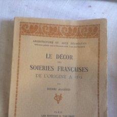 Libros antiguos: LIBRO 1931,EL ARTE DECORATIVO!. Lote 205459682
