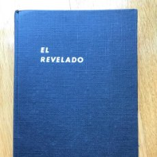 Libros antiguos: EL REVELADO: LA TÉCNICA DEL NEGATIVO. C. I. JACOBSON. Lote 205702996