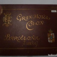 Livres anciens: GRAN HOTEL COLON DE BARCELONA 1900. Lote 205770268