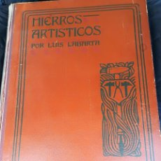 Libros antiguos: HIERROS ARTISTICOS.. Lote 206346531