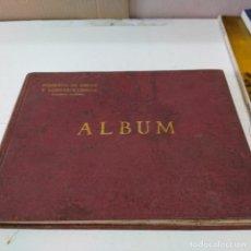 Libros antiguos: ALBUM, FOMENTO DE OBRAS Y CONSTRUCCIONES S A - BARCELONA AÑO 1924 - FOTOGRAFÍA INDUSTRIAL ANTIGUA. Lote 209757427