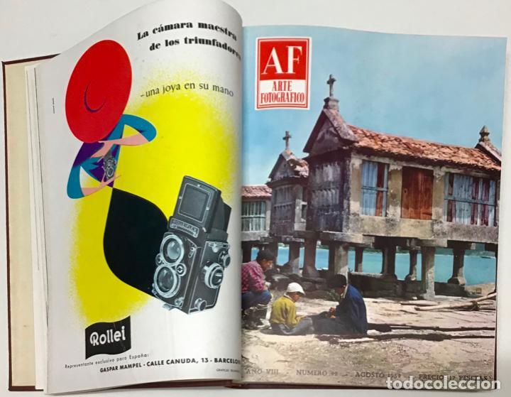 A. F. ARTE FOTOGRÁFICO. REVISTA MENSUAL AL SERVICIO DE LA FOTOGRAFÍA. - [REVISTA.] (Libros Antiguos, Raros y Curiosos - Bellas artes, ocio y coleccion - Diseño y Fotografía)