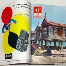 Libros antiguos: A. F. ARTE FOTOGRÁFICO. REVISTA MENSUAL AL SERVICIO DE LA FOTOGRAFÍA. - [REVISTA.]. Lote 114799648