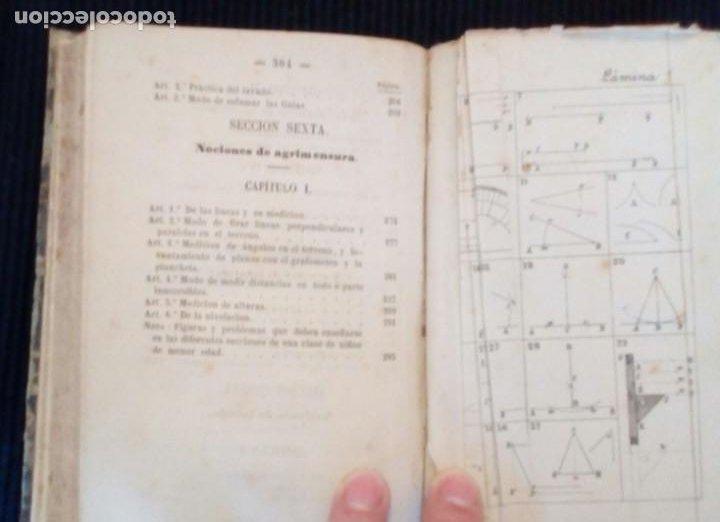 Libros antiguos: CURSO METODICO DE DIBUJO LINEAL. PARTE PRIMERA. ANDRES GIRO Y ARANOLS. MADRID 1865. - Foto 6 - 212537713
