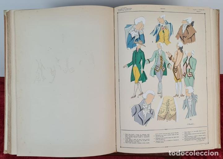 Libros antiguos: HISTOIRE DU COSTUME MASCULIN FRANÇAIS. PAUL LOUIS. EDIT. NILSSON. 1927. - Foto 3 - 212587021