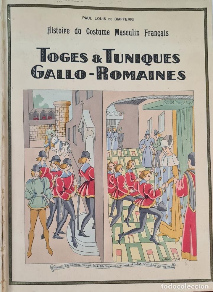 Libros antiguos: HISTOIRE DU COSTUME MASCULIN FRANÇAIS. PAUL LOUIS. EDIT. NILSSON. 1927. - Foto 6 - 212587021