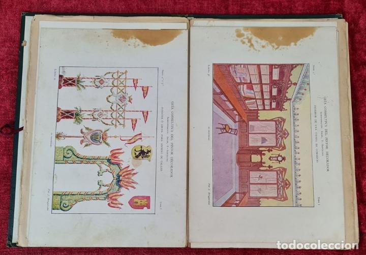 Libros antiguos: GUIA CONSULTIVA DEL PINTOR DECORADOR. J. BRUGAROLAS SIVILLA. SIGLO XIX. - Foto 4 - 221748215