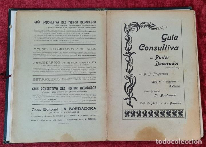 Libros antiguos: GUIA CONSULTIVA DEL PINTOR DECORADOR. J. BRUGAROLAS SIVILLA. SIGLO XIX. - Foto 6 - 221748215