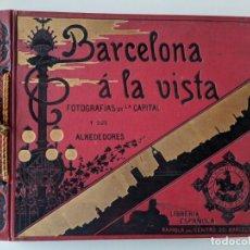 Libros antiguos: BARCELONA A LA VISTA ALBUM DE FOTOGRAFIAS - LIBRERIA ESPAÑOLA - ANTONIO LOPEZ EDITOR. Lote 224165565