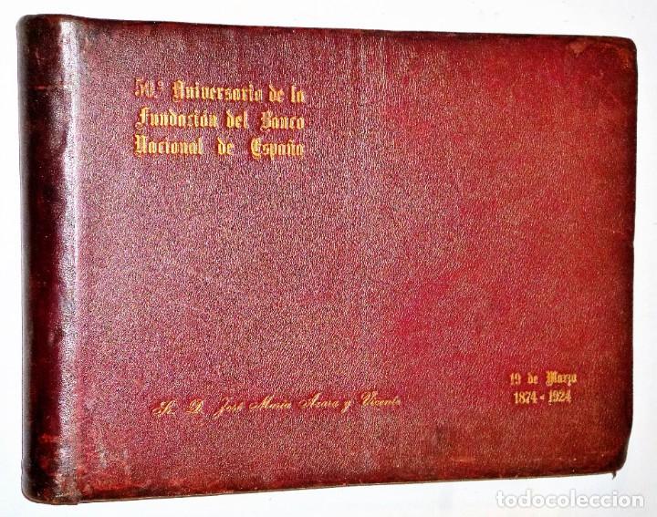 50 ANIVERSARIO DE LA FUNDACIÓN DEL BANCO NACIONAL DE ESPAÑA. 19 DE MAYO 1874-1924 (Libros Antiguos, Raros y Curiosos - Bellas artes, ocio y coleccion - Diseño y Fotografía)