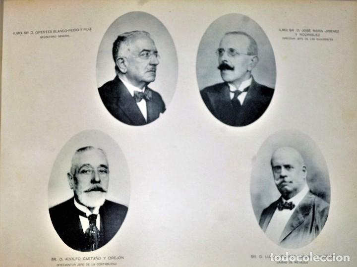 Libros antiguos: 50 ANIVERSARIO DE LA FUNDACIÓN DEL BANCO NACIONAL DE ESPAÑA. 19 de mayo 1874-1924 - Foto 8 - 224529240
