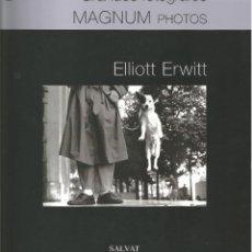 Livres anciens: ELLIOT ERWITT - GRANDES FOTÓGRAFOS MAGNUM. Lote 224859642