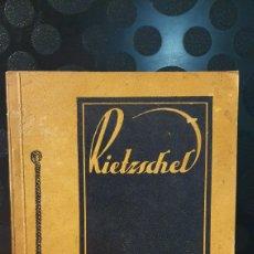 Libros antiguos: RIETZSCHEL/ MUNICH/ GUIA AFICIONADOS DEL ARTE FOTO/ AÑOS 20/ ORIGINAL DE ÉPOCA.. Lote 225072915