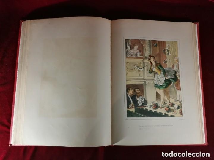 Libros antiguos: HISTORIA DE UNA MUJER Album cincuenta 50 cromos D.Eusebio Planas Barcelona 1881 Bella encuadernacion - Foto 13 - 226832255