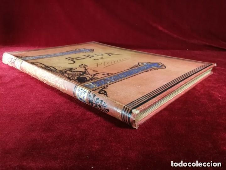 Libros antiguos: HISTORIA DE UNA MUJER Album cincuenta 50 cromos D.Eusebio Planas Barcelona 1881 Bella encuadernacion - Foto 14 - 226832255