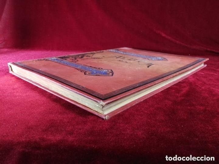 Libros antiguos: HISTORIA DE UNA MUJER Album cincuenta 50 cromos D.Eusebio Planas Barcelona 1881 Bella encuadernacion - Foto 15 - 226832255