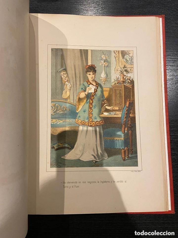 Libros antiguos: HISTORIA DE UNA MUJER Album cincuenta 50 cromos D.Eusebio Planas Barcelona 1881 Bella encuadernacion - Foto 19 - 226832255