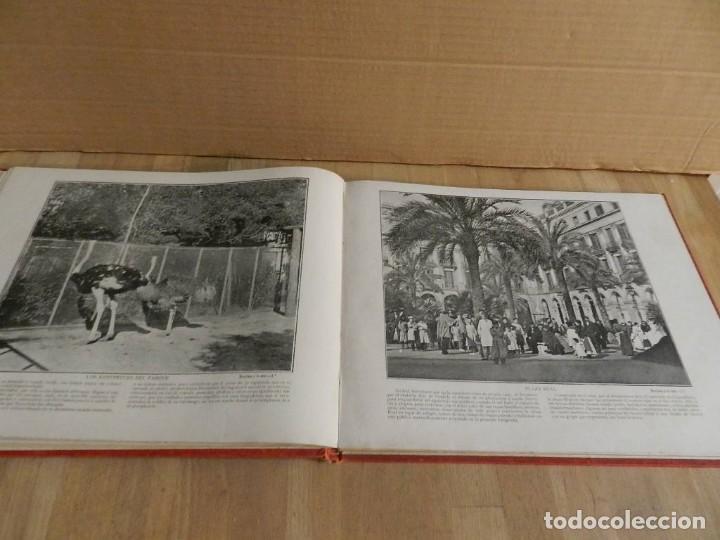 Libros antiguos: BARCELONA Á LA VISTA. ALBUM DE 192 VISTAS.DE LA CAPITAL Y SUS ALREDEDORES. FOTOGRAFÍA ANTIGUA 1900 - Foto 3 - 227824860