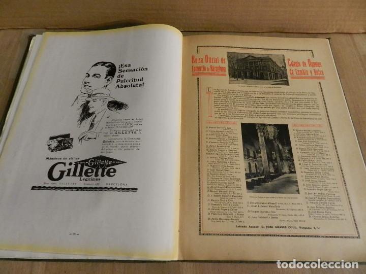Libros antiguos: BARCELONA 1926-1927. ANUARIO DE LA CIUDAD. FOTOGRAFÍA ANTIGUA . MUCHA PUBLICIDAD - Foto 6 - 227826266