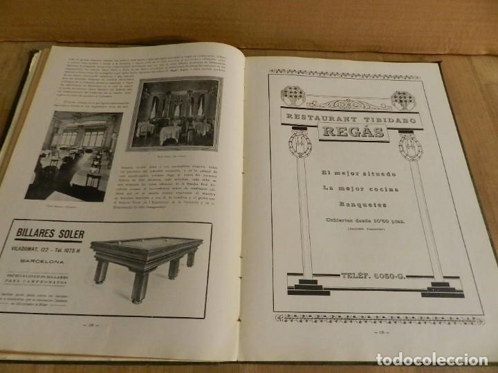 Libros antiguos: BARCELONA 1926-1927. ANUARIO DE LA CIUDAD. FOTOGRAFÍA ANTIGUA . MUCHA PUBLICIDAD - Foto 7 - 227826266