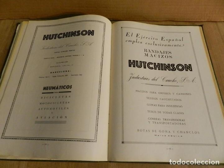 Libros antiguos: BARCELONA 1926-1927. ANUARIO DE LA CIUDAD. FOTOGRAFÍA ANTIGUA . MUCHA PUBLICIDAD - Foto 8 - 227826266