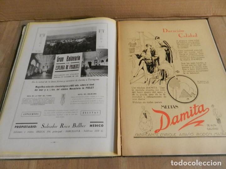 Libros antiguos: BARCELONA 1926-1927. ANUARIO DE LA CIUDAD. FOTOGRAFÍA ANTIGUA . MUCHA PUBLICIDAD - Foto 9 - 227826266