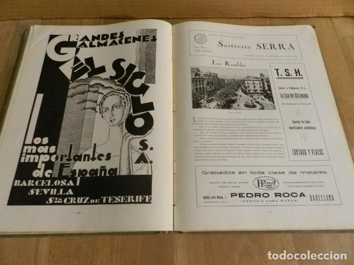 Libros antiguos: BARCELONA 1929-1930 RECUERDO DE LA EXPOSICIÓN UNIVERSAL FOTOGRAFÍA ANTIGUA MUCHA PUBLICIDAD - Foto 3 - 227827705